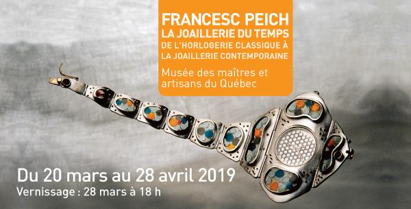 Francesc Peich : la joaillerie du temps