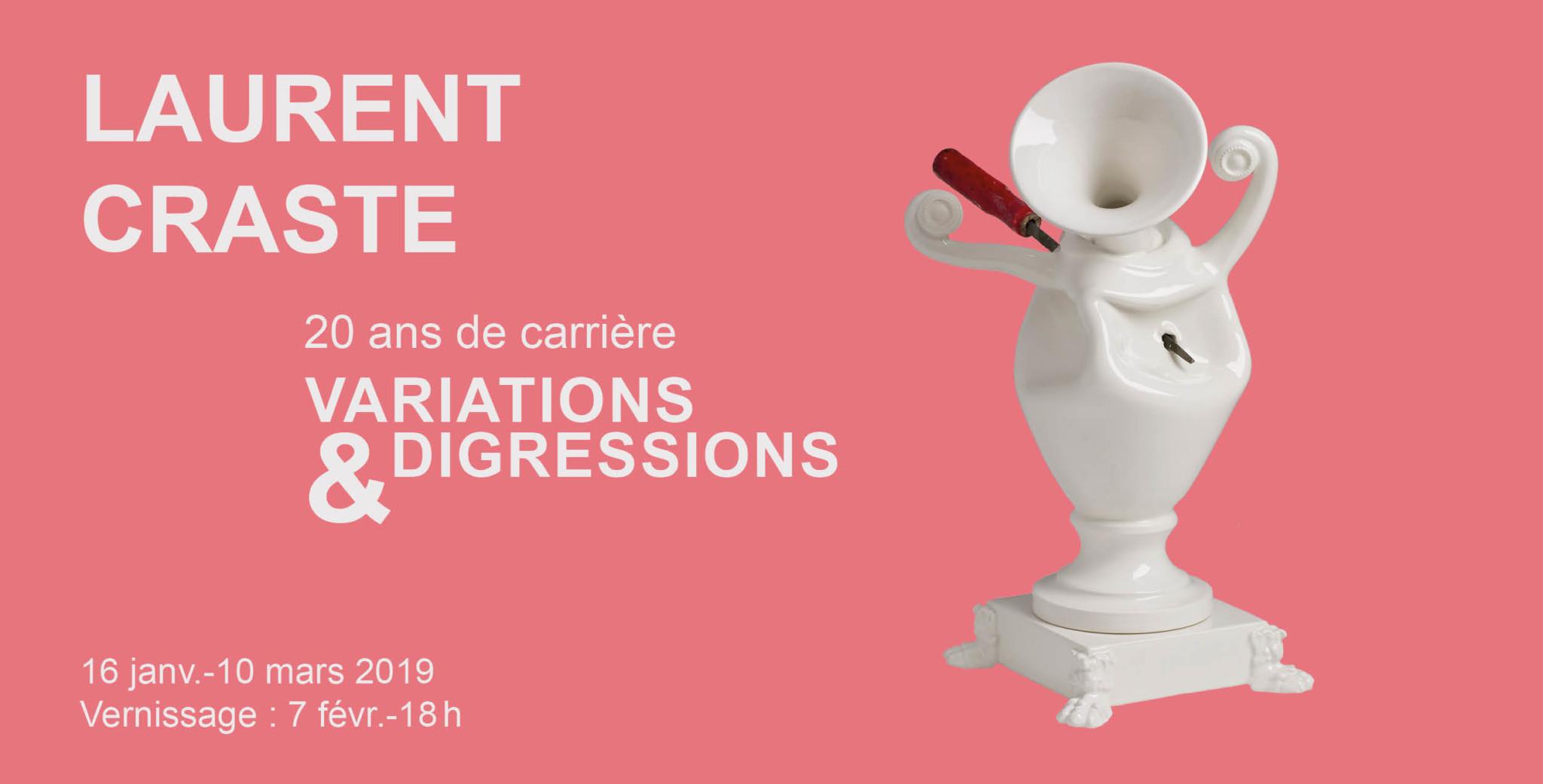 Laurent Craste  20 ans de carrière : variations & digressions