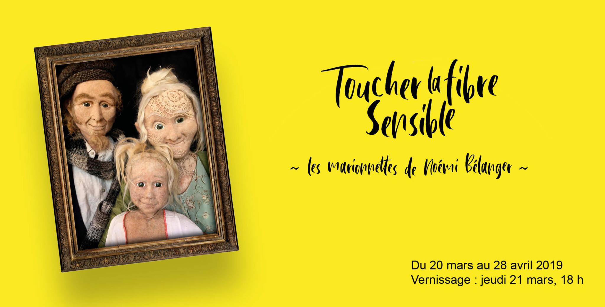 Exposition «Toucher la fibre sensible»