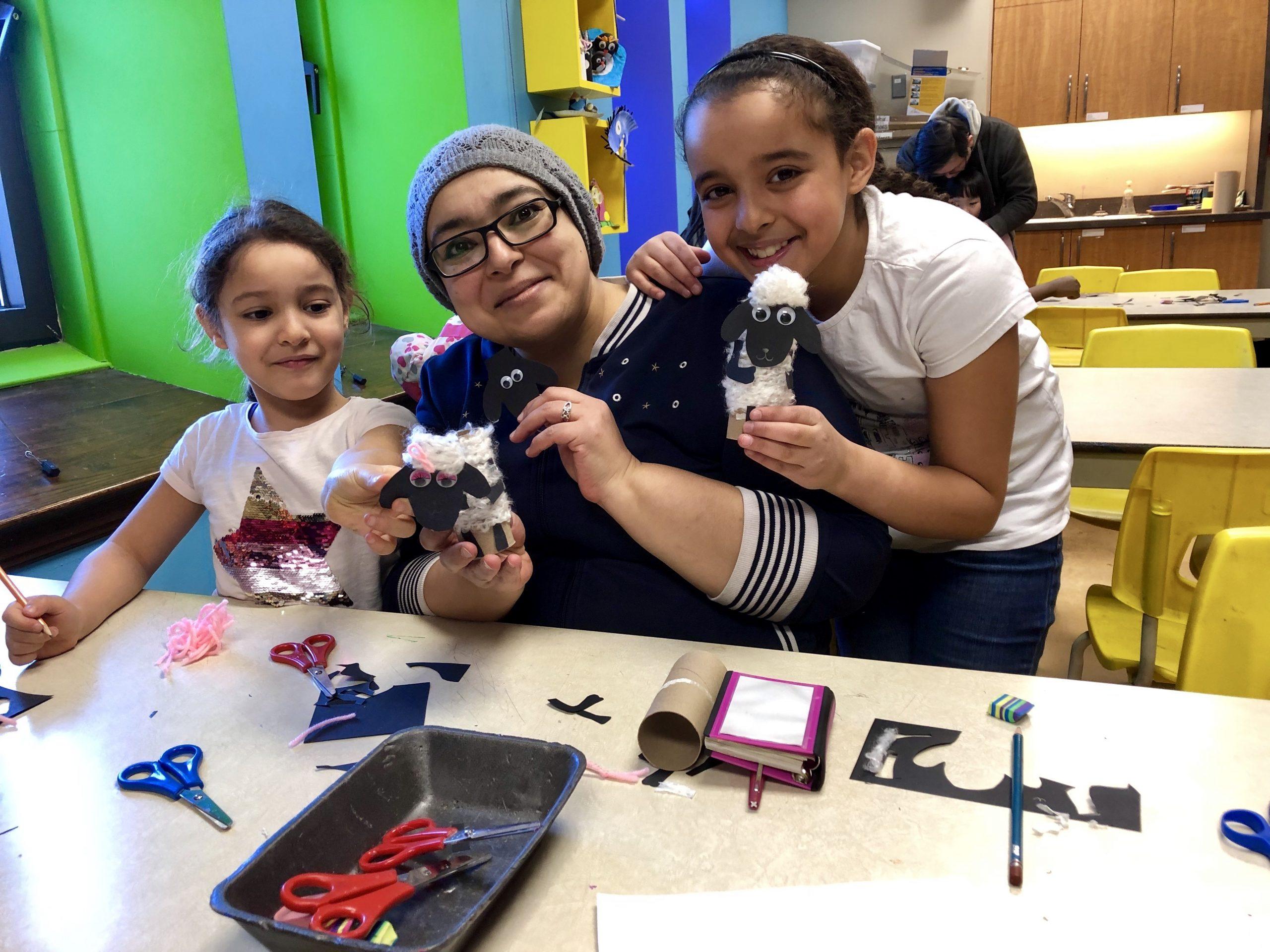 Ateliers créatifs en famille