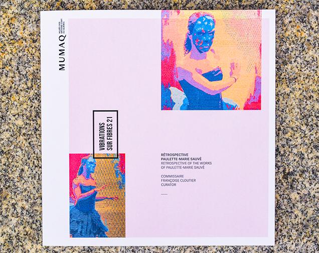 Catalogue de l'exposition Vibrations sur fibres 21